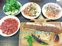 アダナ・ケバブという肉料理をトルコ アダナ、メルスィンで満喫