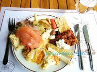 イスタンブールのポーランド村(ポーレンツキョイ)での豪華朝食の画像@トルコ