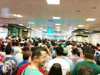 (゜_゜)イスタンブールで人が多過ぎる〜 速報:反クーデター集会2016年8月7日