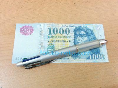 ハンガリー フォリント フォーリント の写真 1000 Forint が写っている画像