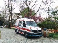 トルコの救急車はどんなの?112番通報 イスタンブール 写真