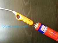 チャッカマン・ガスライターのガス補充の方法