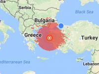 トルコで地震がありました2017年6月12日午後3:28